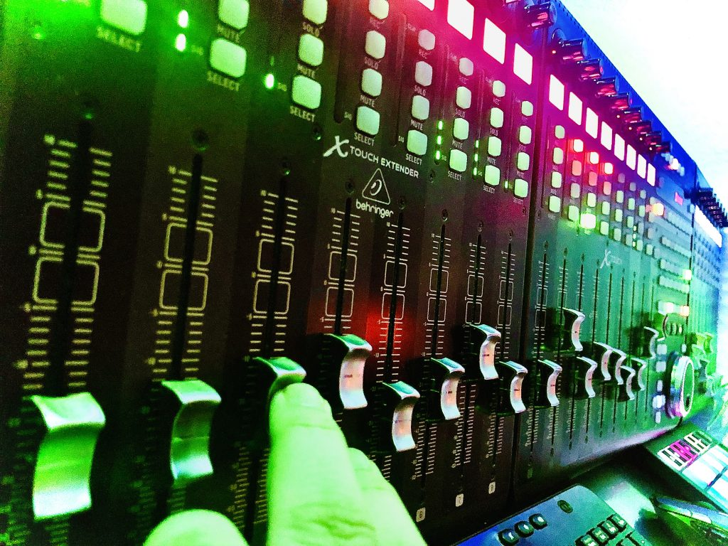Reason Studios World's First 24 Channel Full Mixer Interface